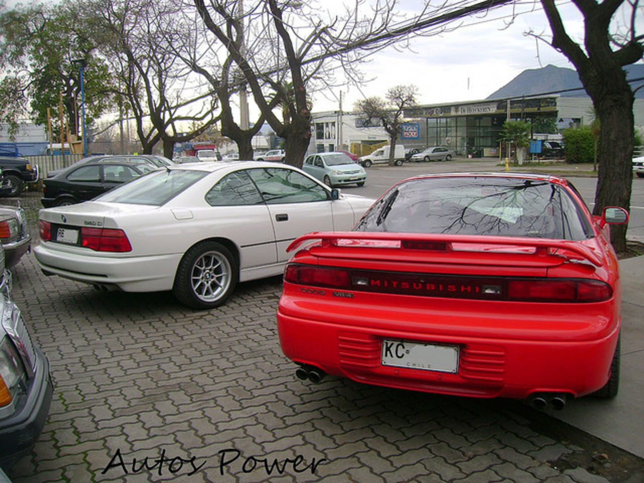 BMW 840i & Mitsubishi 3000GT VR-4 | Flickr - Photo Sharing!