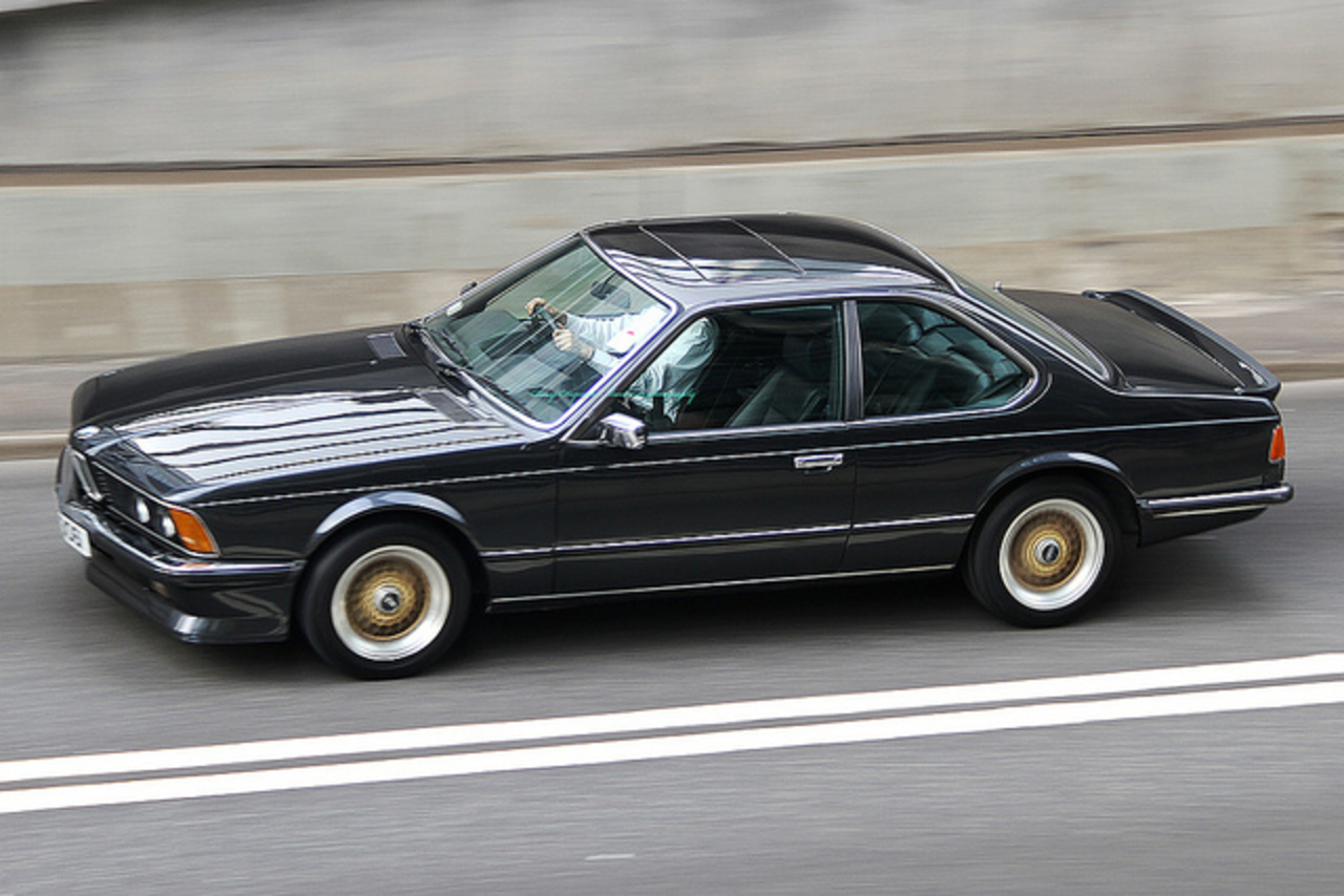 "BMW 635 CSi, ""GU3061"", Central, Hong Kong 
