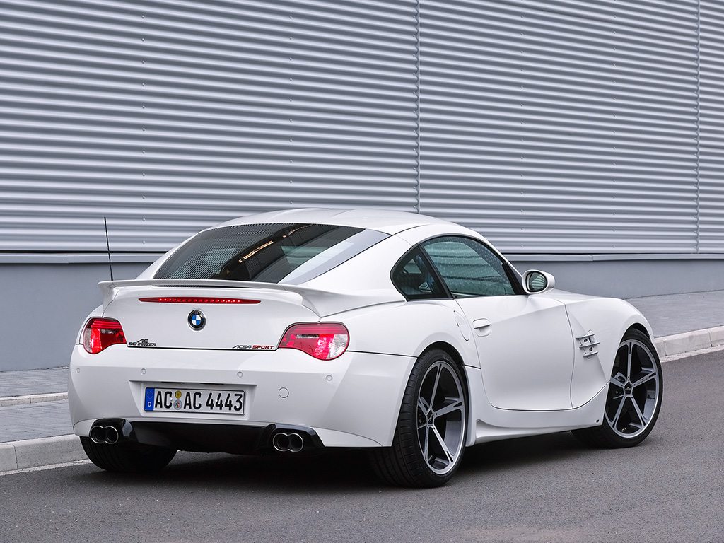 2007 AC Schnitzer BMW M Coupe - Rear And Side - 1024x768 - Wallpaper