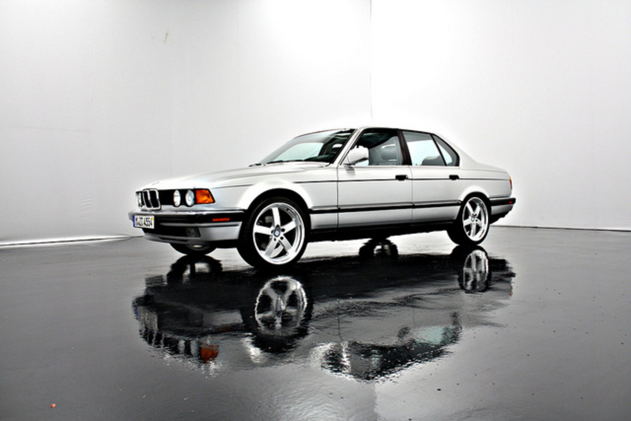 1991 BMW 7-Series 735i Silver 19 Inch Rims | Flickr - Photo Sharing!