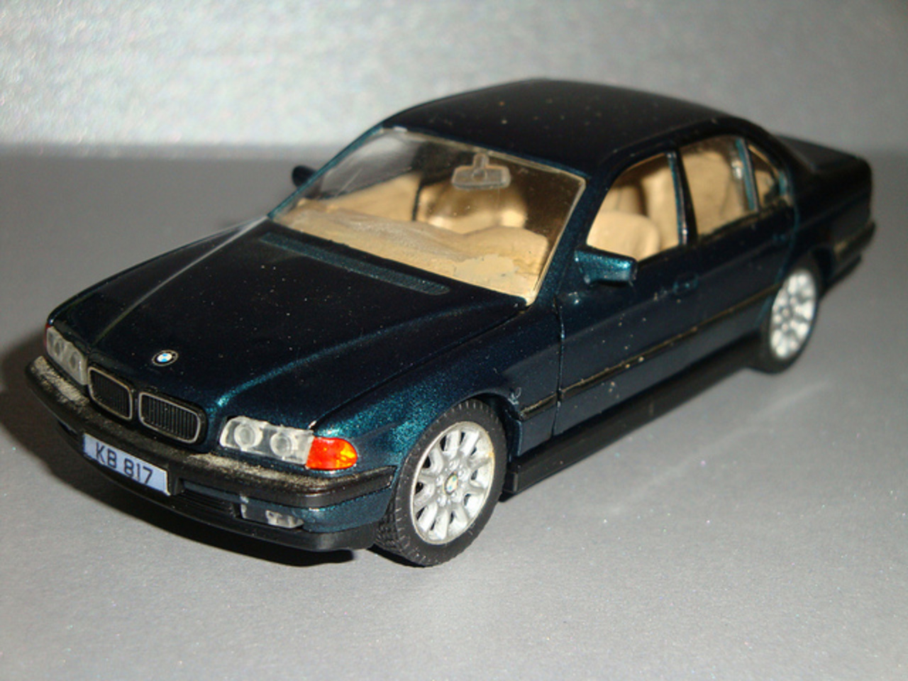 1/43 BMW 7 series green | Flickr - Photo Sharing!