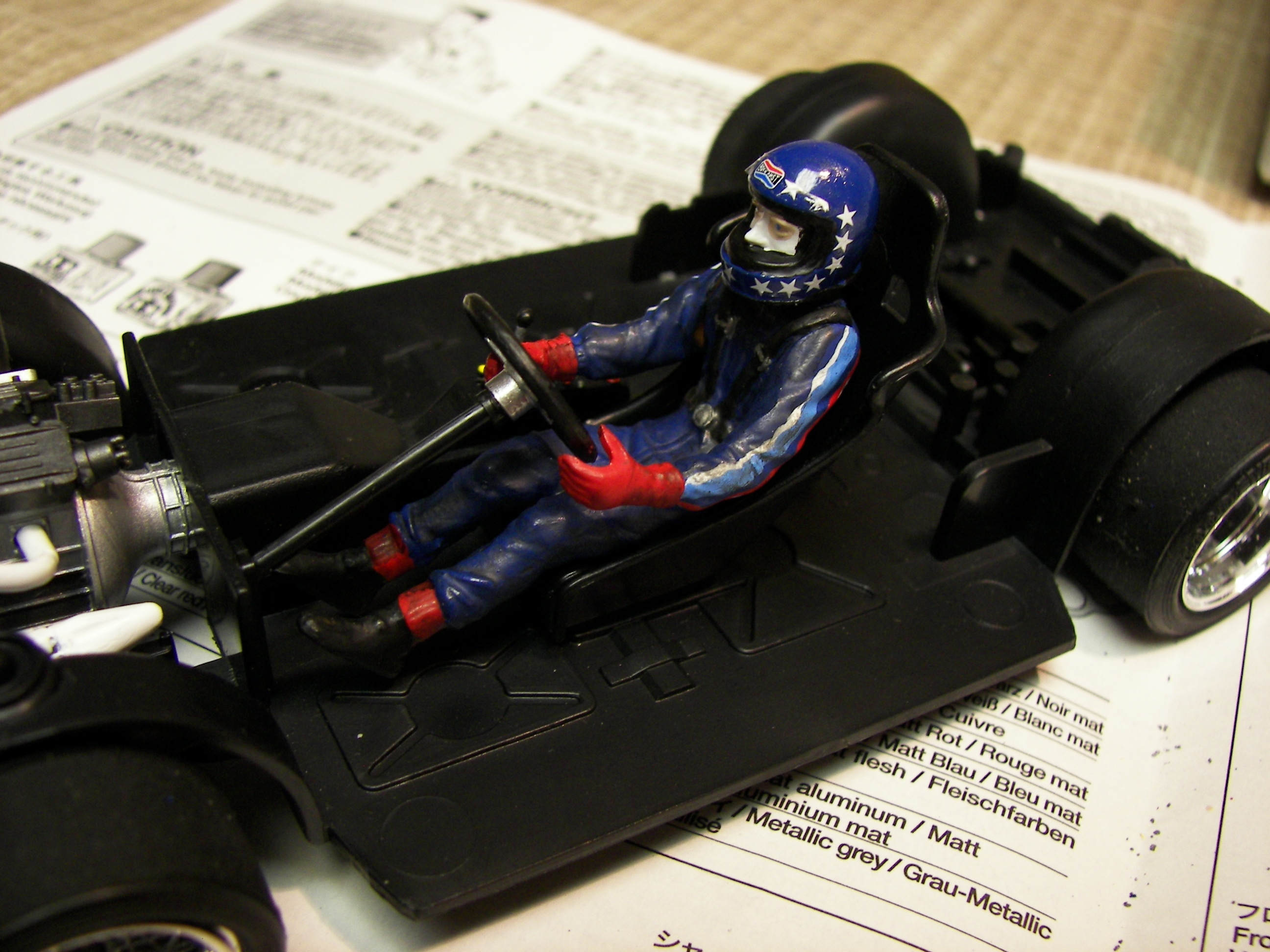 Hans J Stuck from Tamiya BMW 320i GR5 kit | Flickr - Photo Sharing!