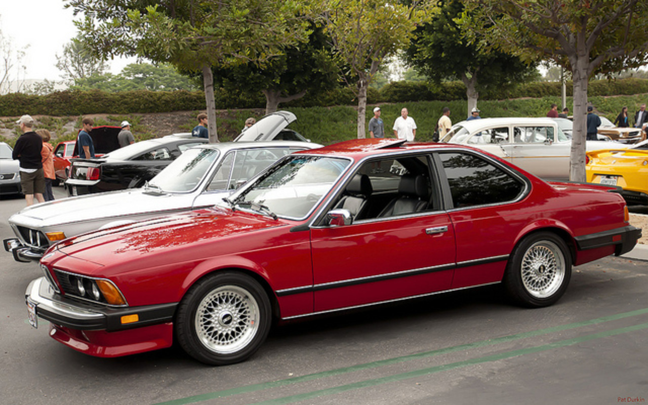 1986 BMW 635 CSi Coupe - red - fvl | Flickr - Photo Sharing!