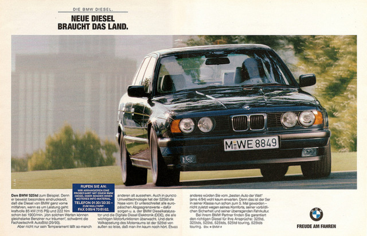 BMW 525td E34 (1994) | Flickr - Photo Sharing!