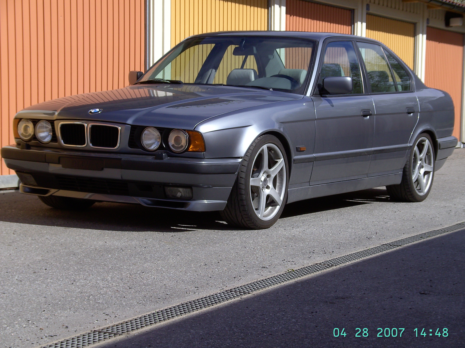 1995 BMW 540i/6 E34 Arktisgrau metallic #630/797 | Flickr - Photo ...