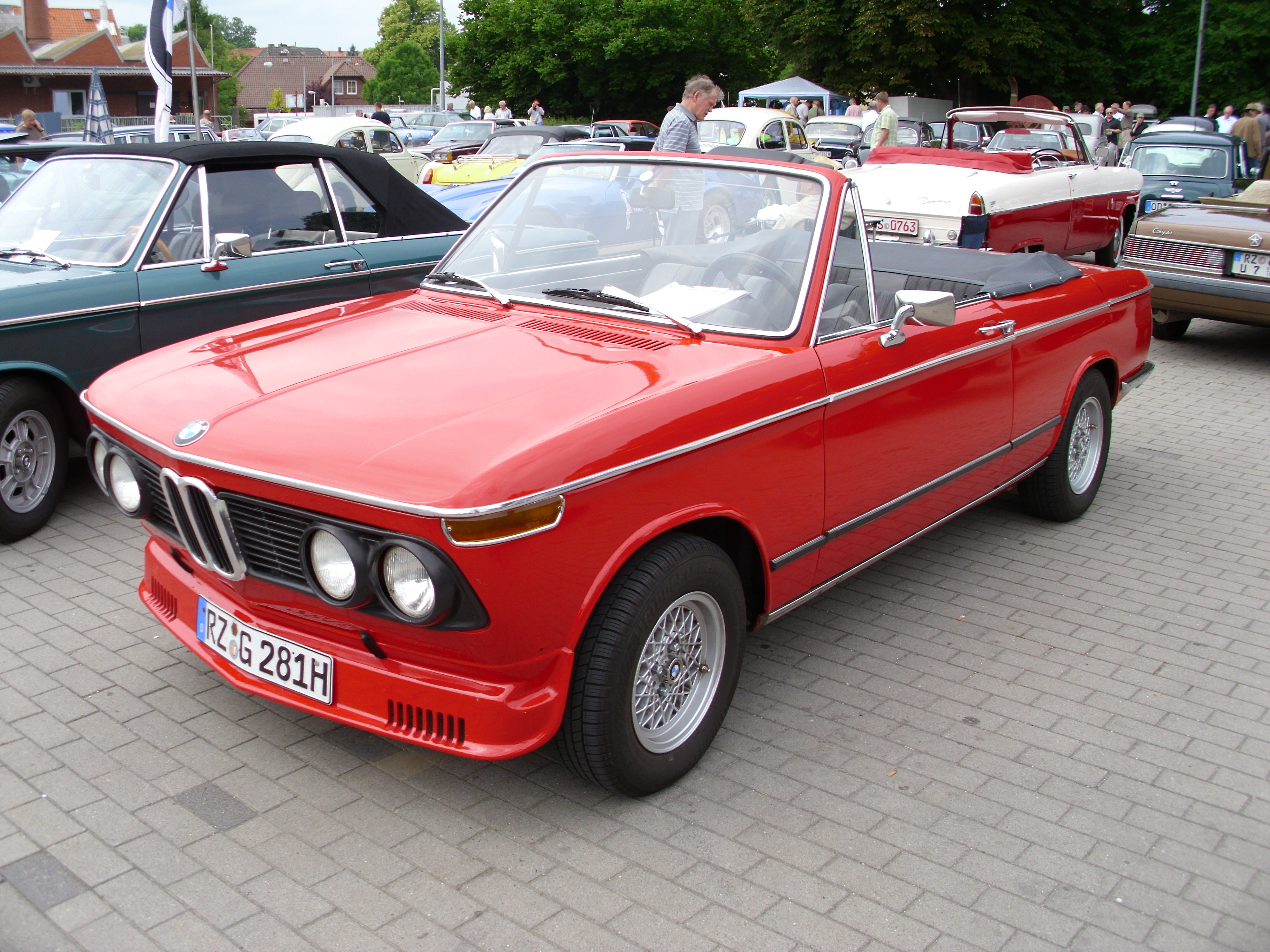 BMW 1600-2 Cabriolet (Baur) 1970 -2- | Flickr - Photo Sharing!