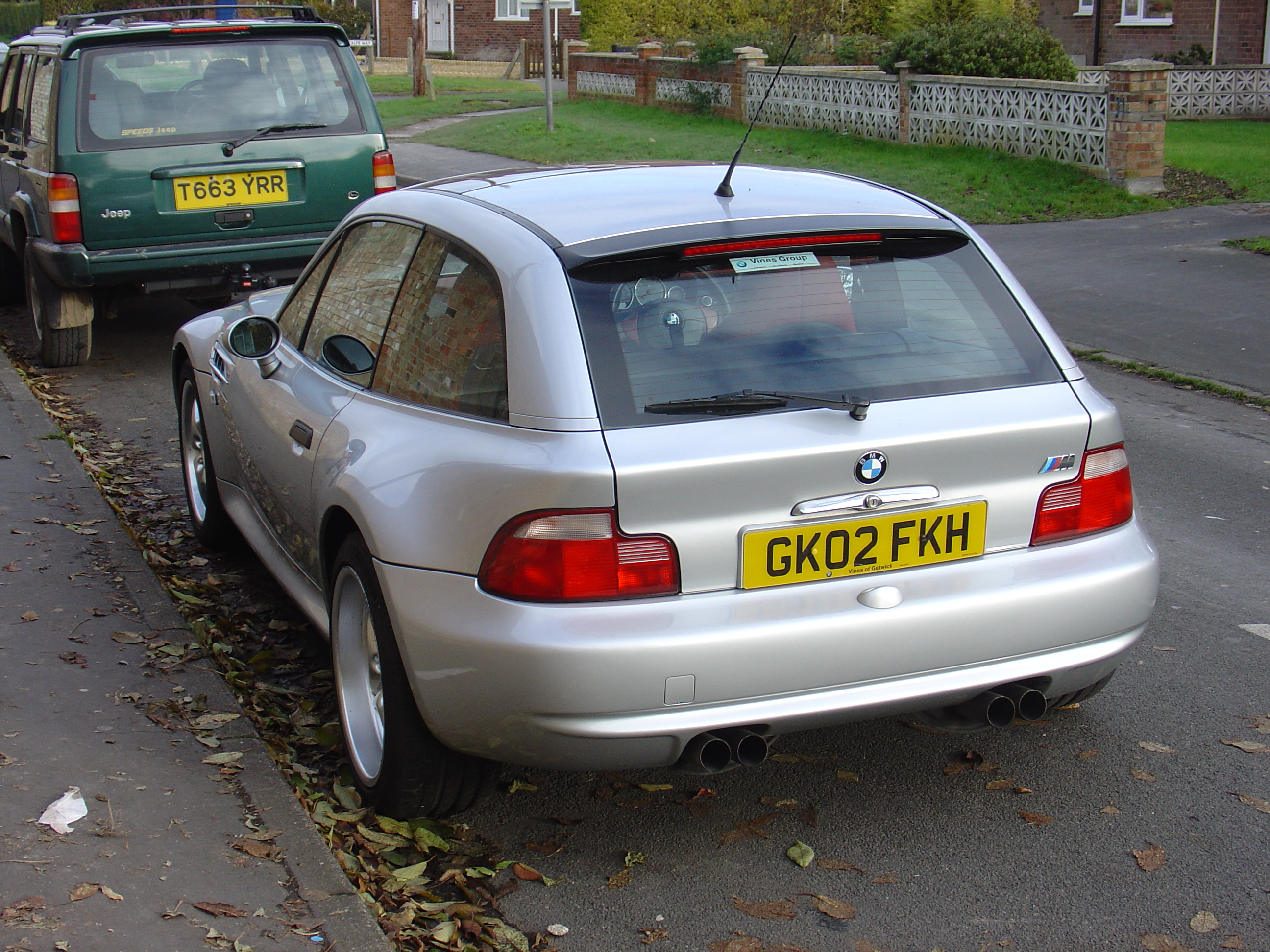 File:Silver BMW M Coupe.jpg - Wikimedia Commons