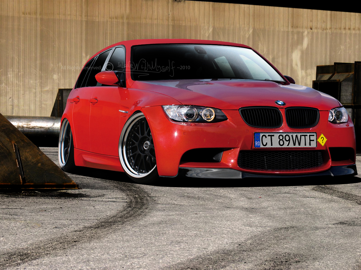 Bmw 325i touring by ~InL0veWithMyself on deviantART