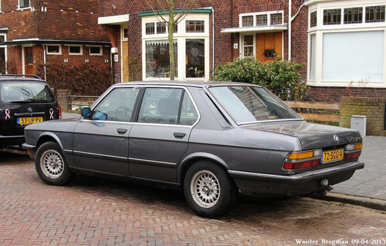 BMW E28 524 TD automatic 1985 | Flickr - Photo Sharing!