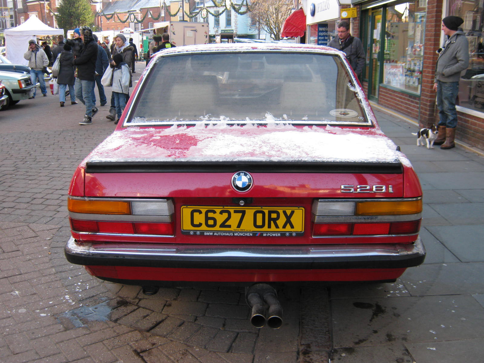 NOVEMBER 1985 BMW 528 INJECTION 2788cc C627ORX | Flickr - Photo ...