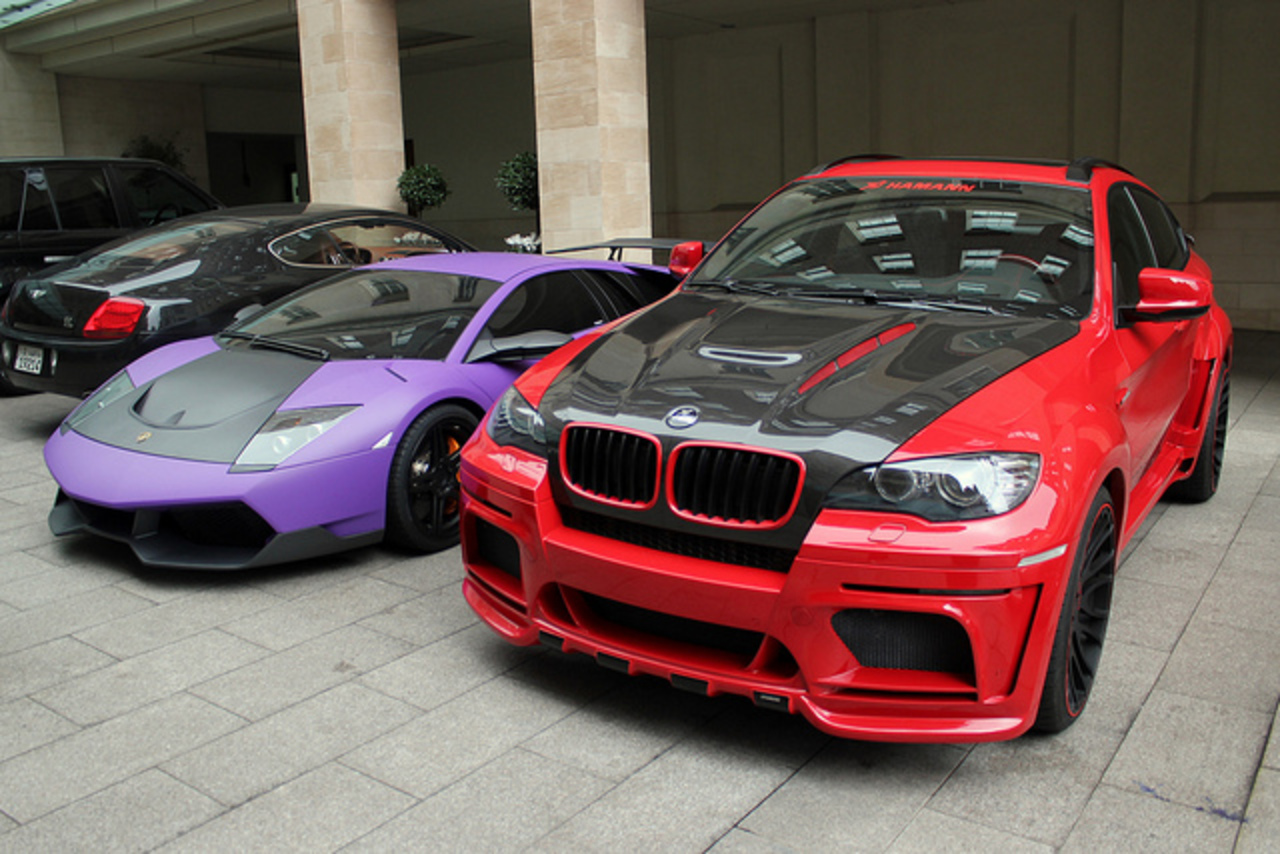 Hamann Tycoon (BMW X6) and LP670-4 SV | Flickr - Photo Sharing!
