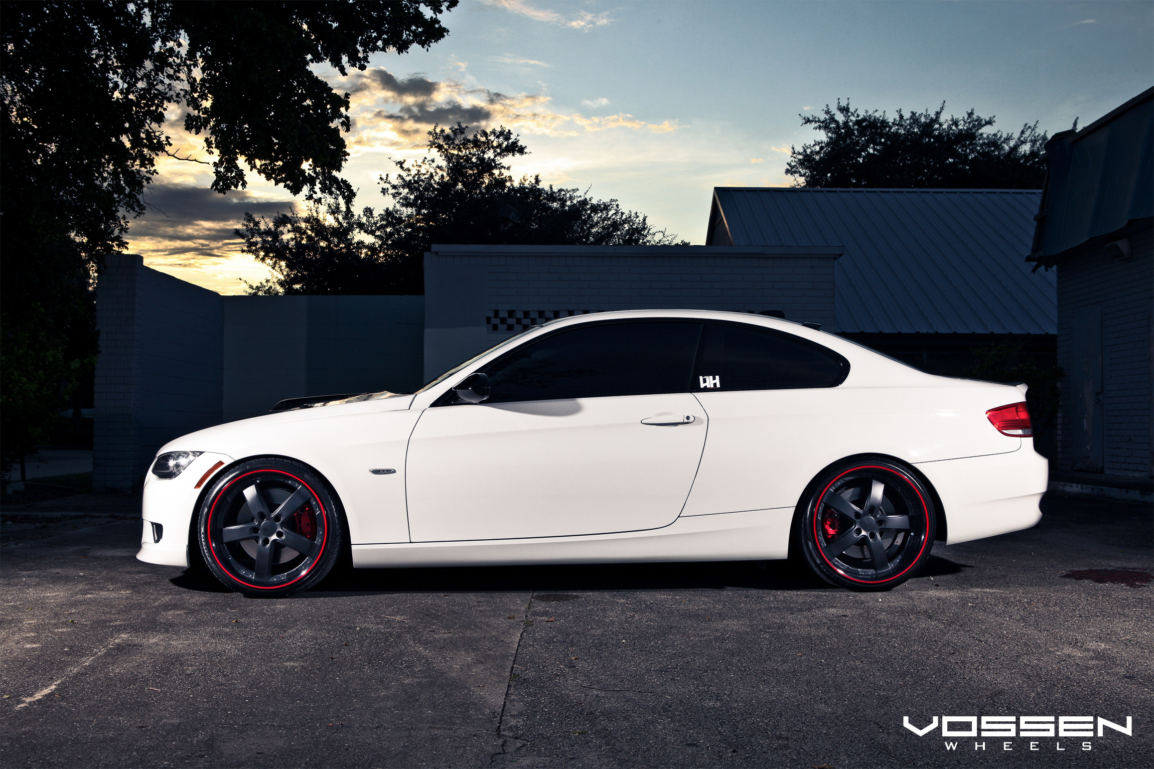 BMW 3-Series with Custom Vossen VVS-084 Wheels | Flickr - Photo ...