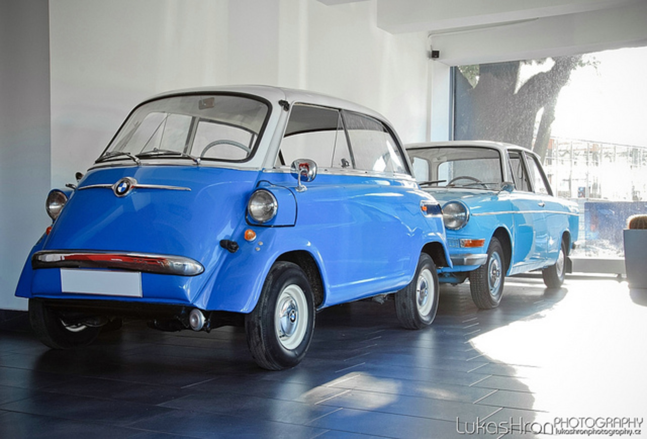 BMW Isetta 600 and BMW 700 | Flickr - Photo Sharing!