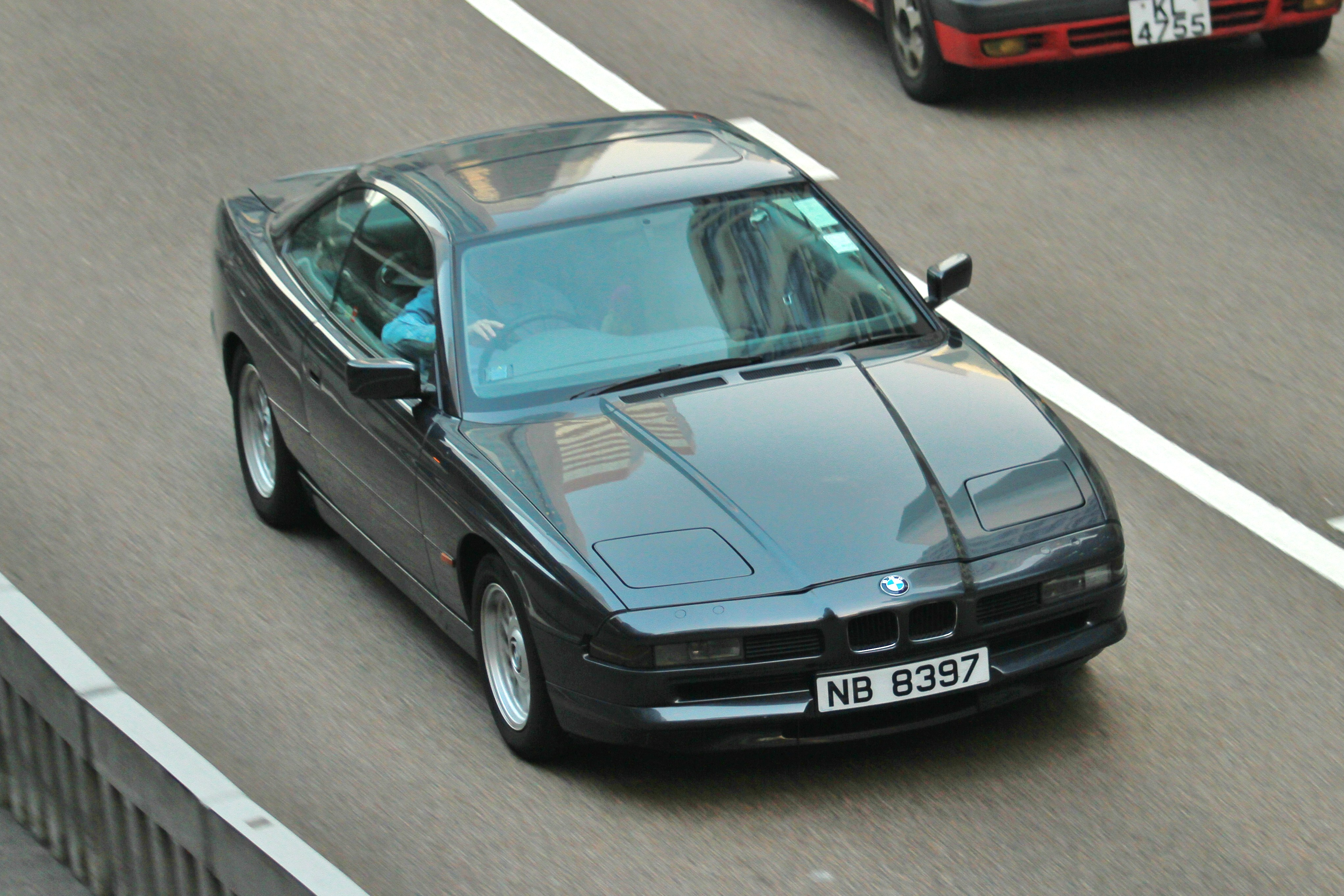 "BMW 8 series ""NB 8397"" 