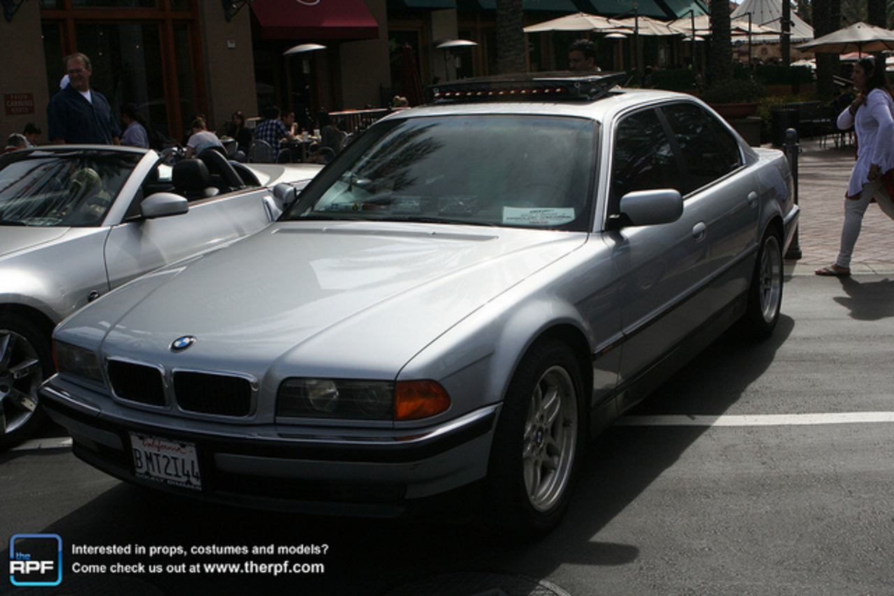 James Bond's BMW 750iL from Tomorrow Never Dies | Flickr - Photo ...