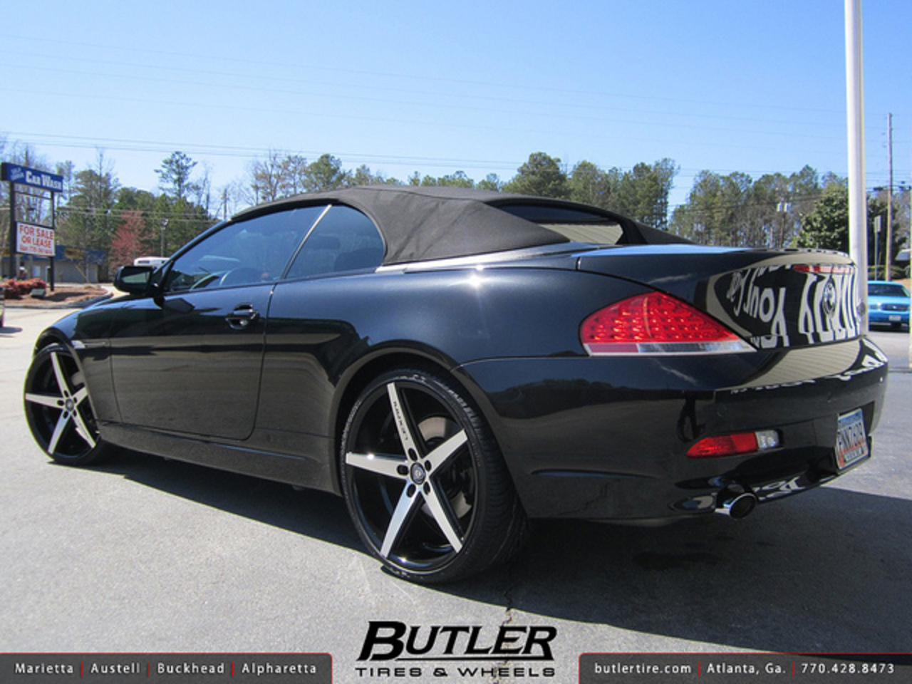 BMW 6 Series with 22in Lexani R-Four Wheels | Flickr - Photo Sharing!