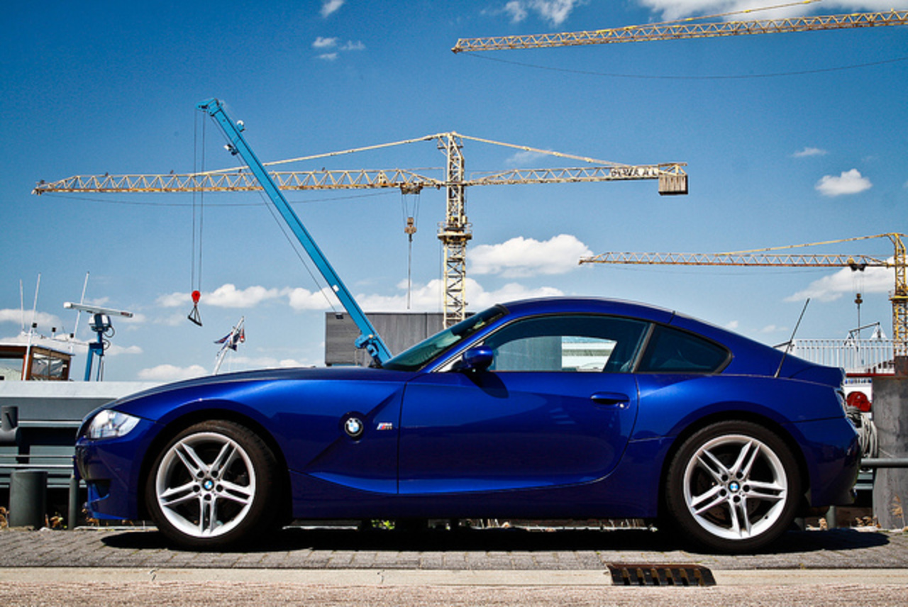 Blue BMW Z4 M Coupé! | Flickr - Photo Sharing!