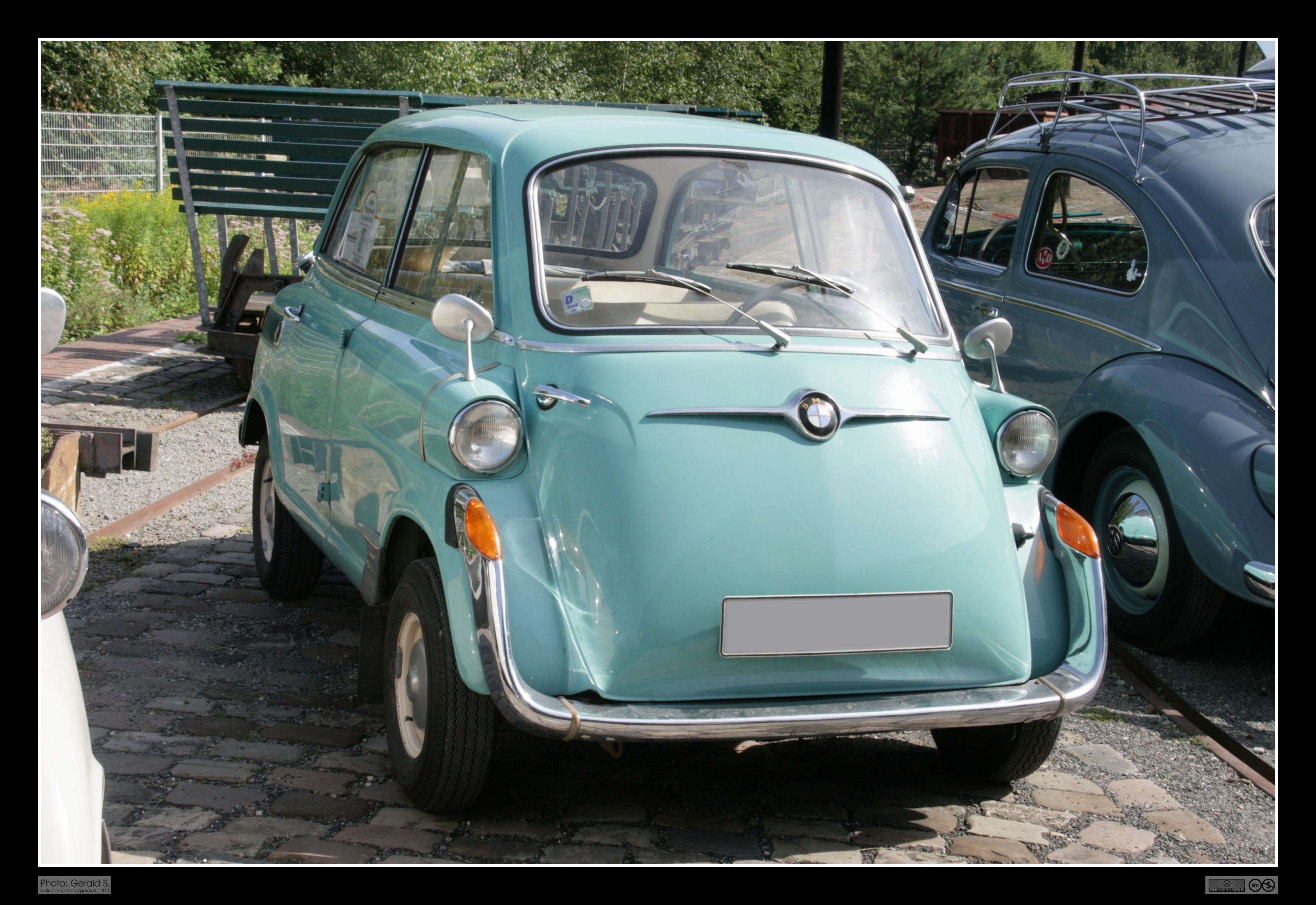 1957 BMW Isetta 600 | Flickr - Photo Sharing!