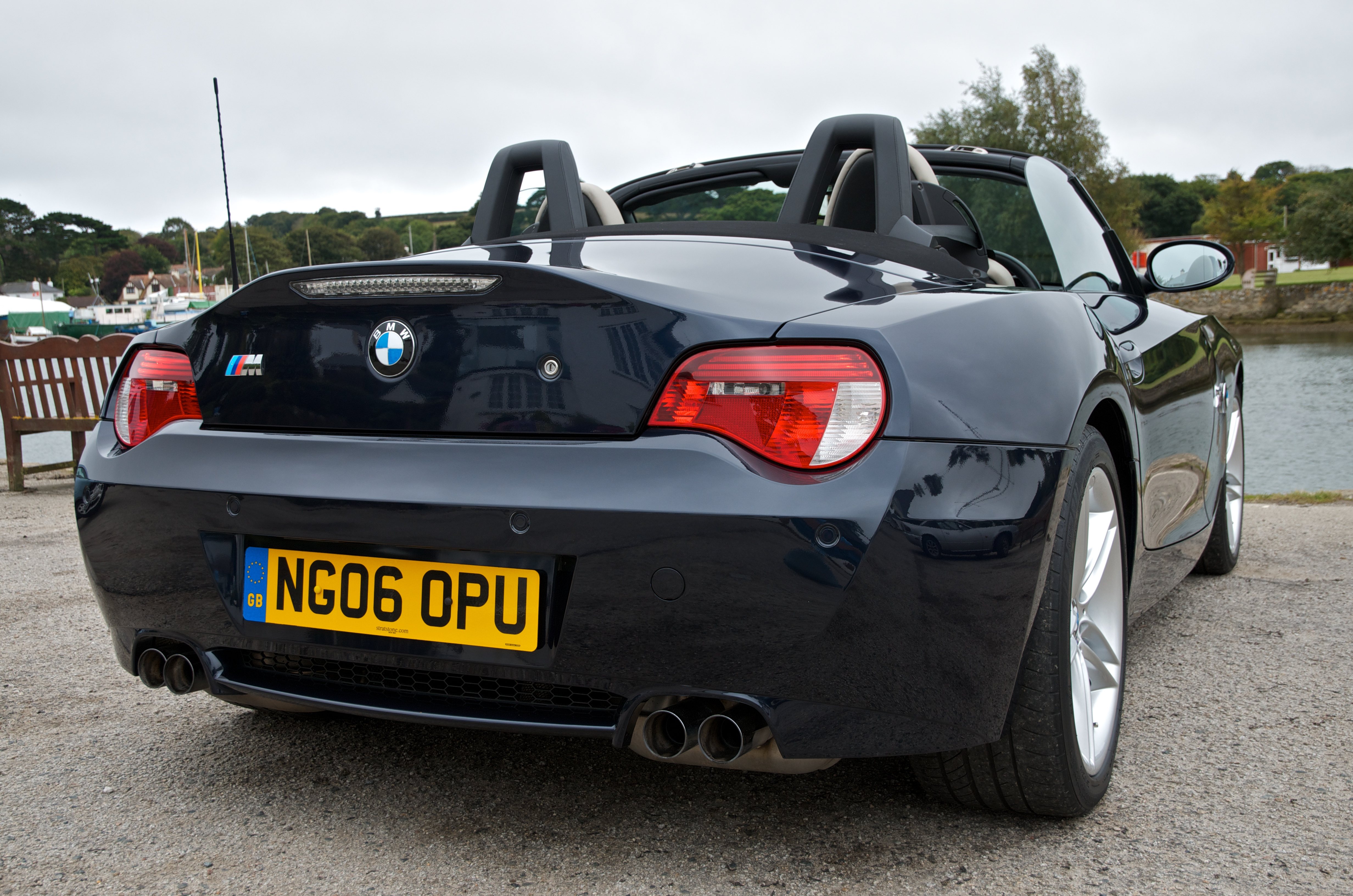 BMW Z4 M Roadster in Monaco Blue | Flickr - Photo Sharing!