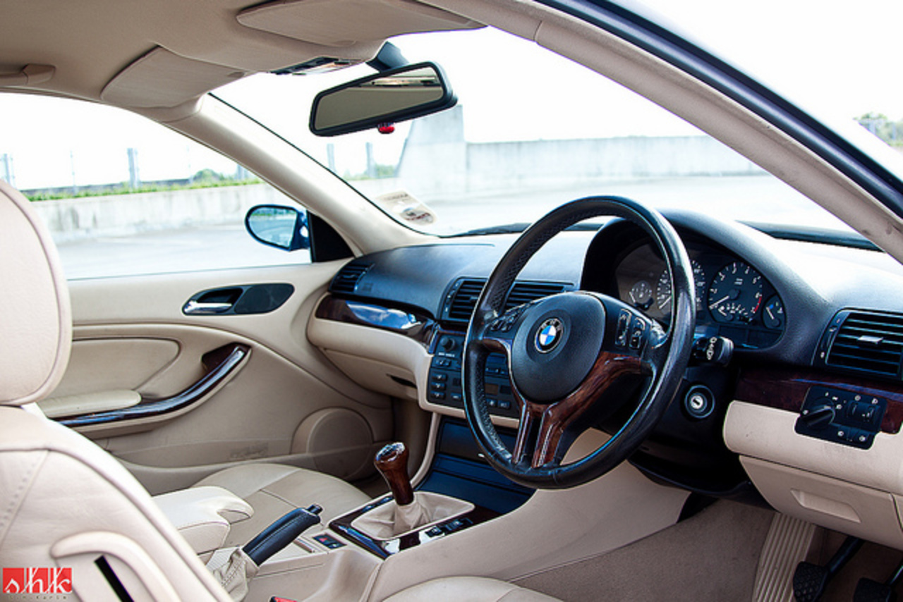 BMW 318 front interior | Flickr - Photo Sharing!