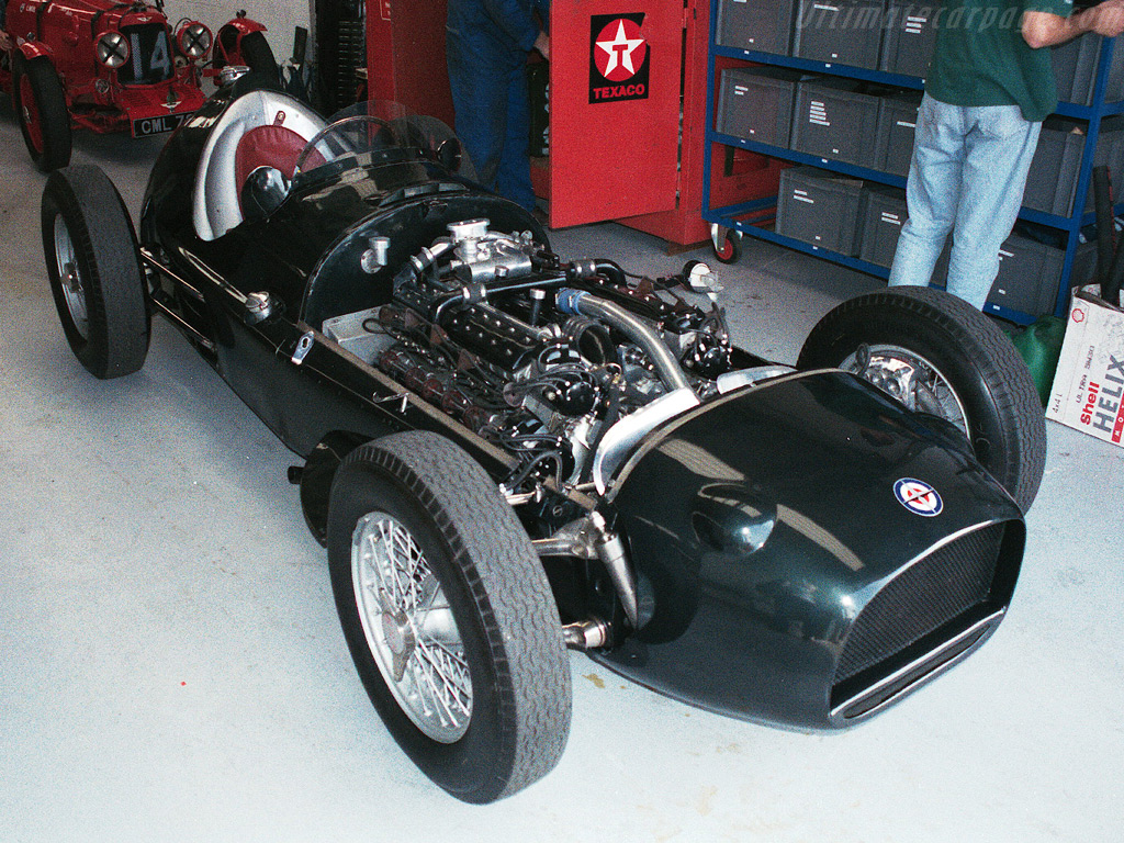 1954 BRM Type 30 'V16' - Images, Specifications and Information