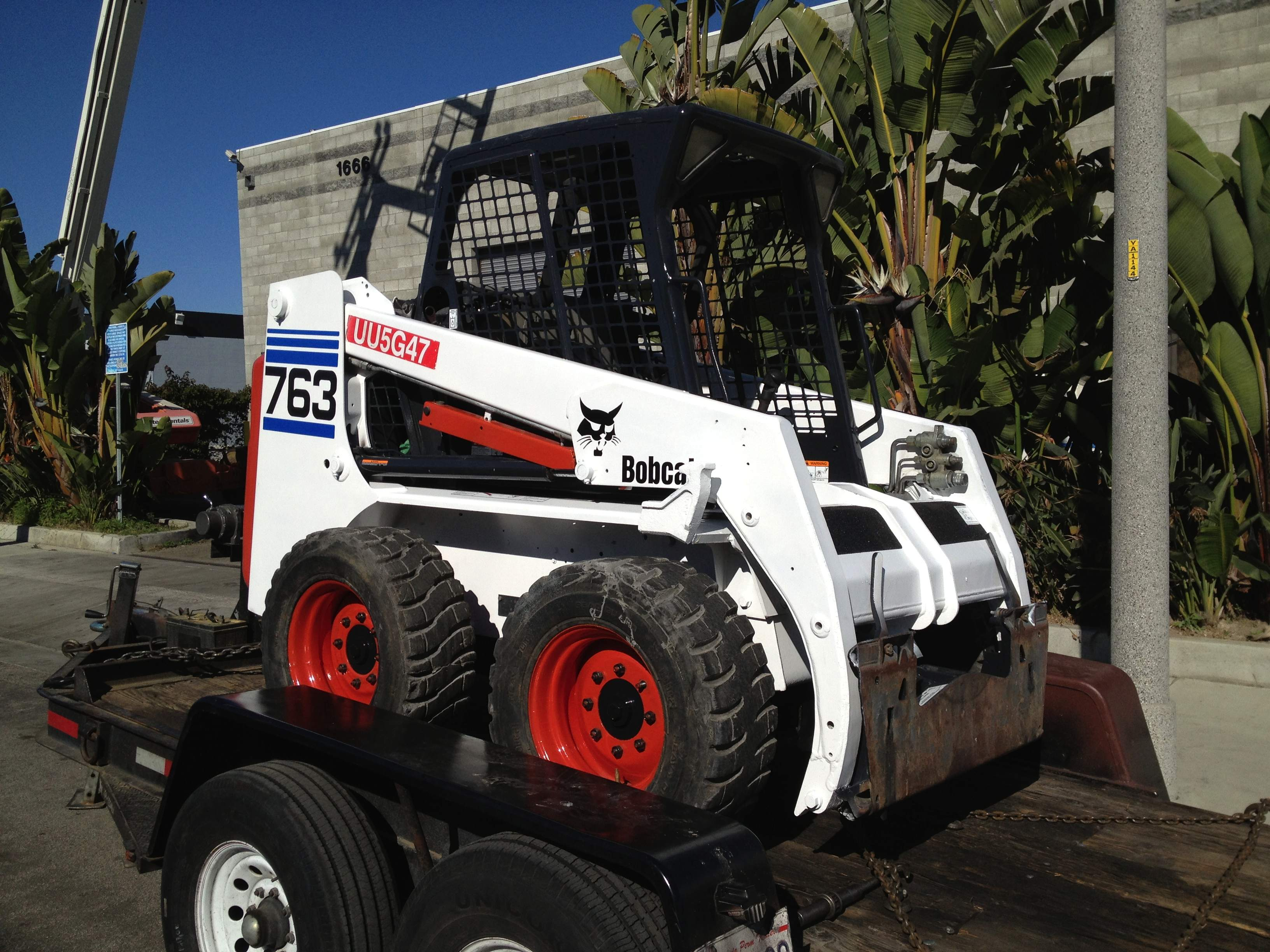 Used 2002 Bobcat 763 Skid Steer Loader - Kennelly Equipment