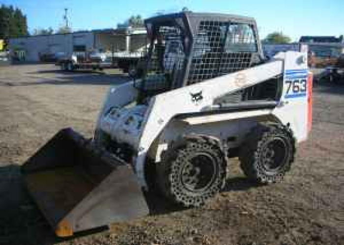 Bobcat 763 Skid Steer Loader - $9500 (Eugene) for Sale in Eugene ...