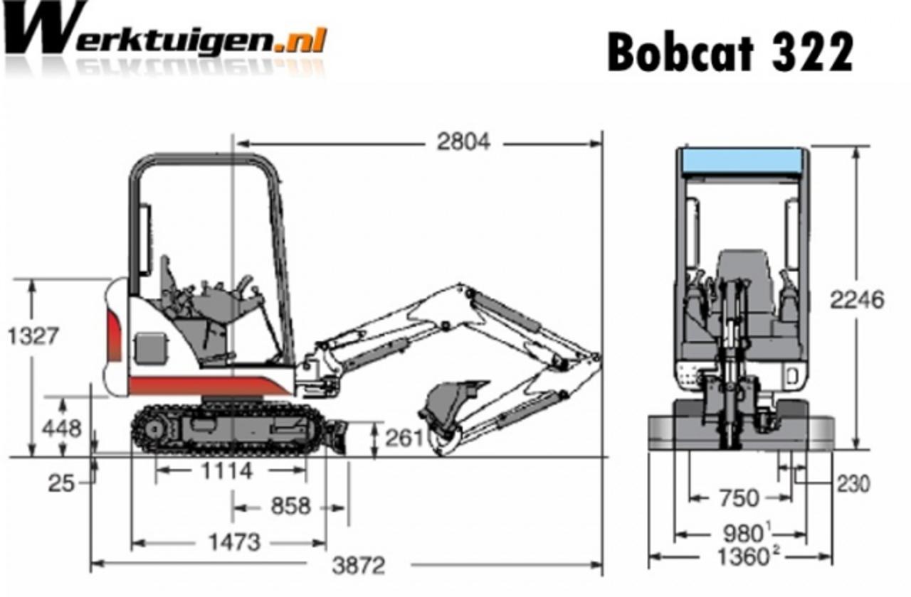 TopWorldAuto >> Photos of Bobcat 322 - photo galleries