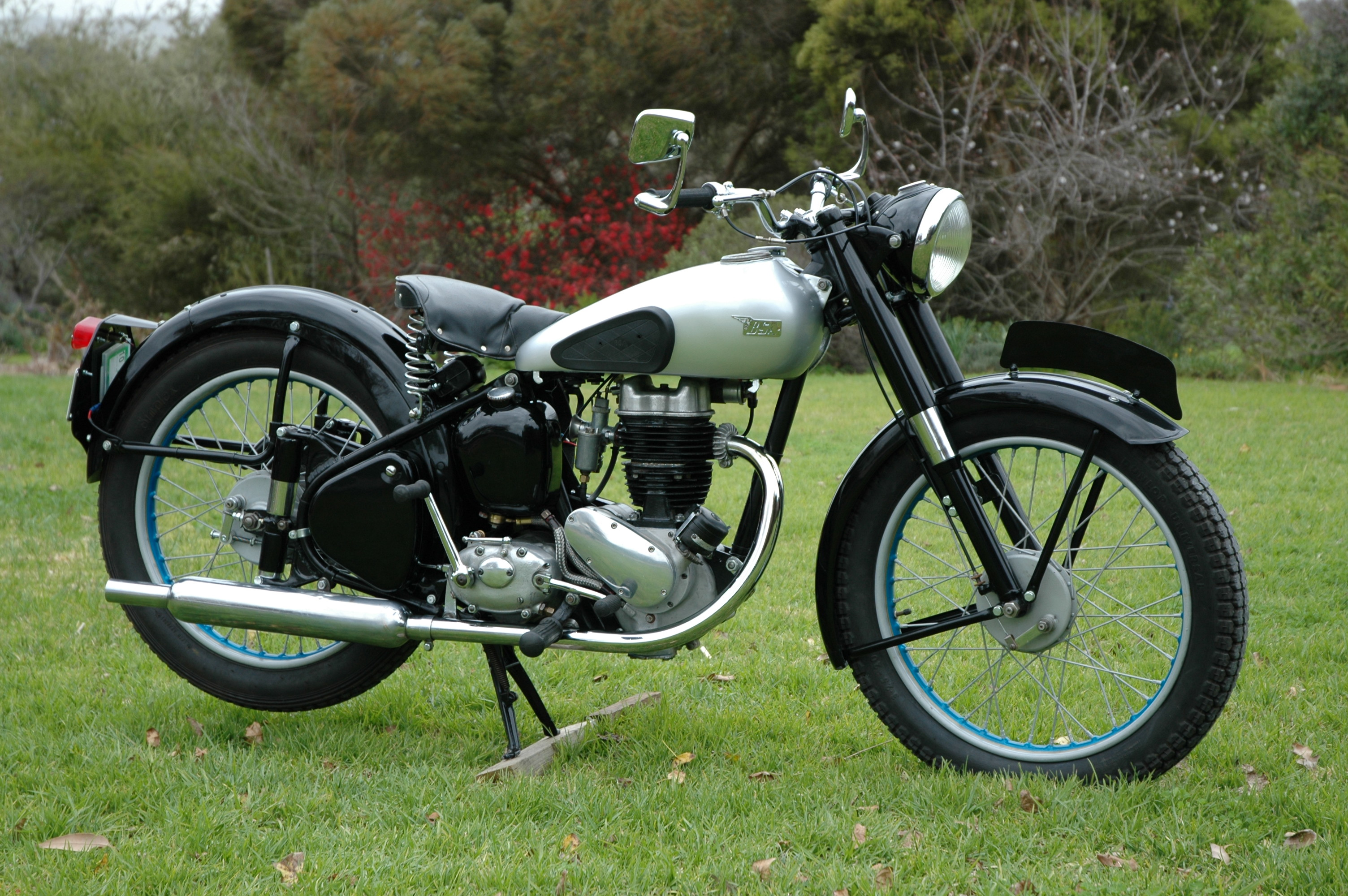 BSA Bantam - In the Shed