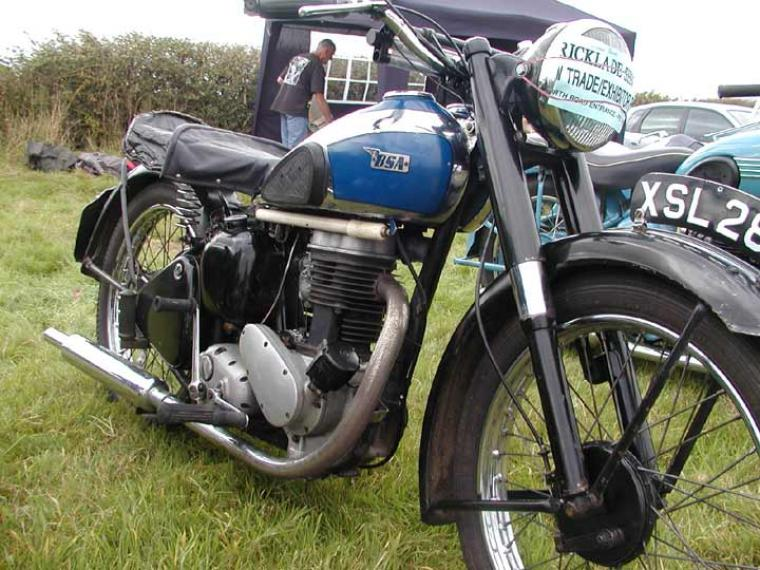 1955 BSA C11 Classic Motorcycle Pictures