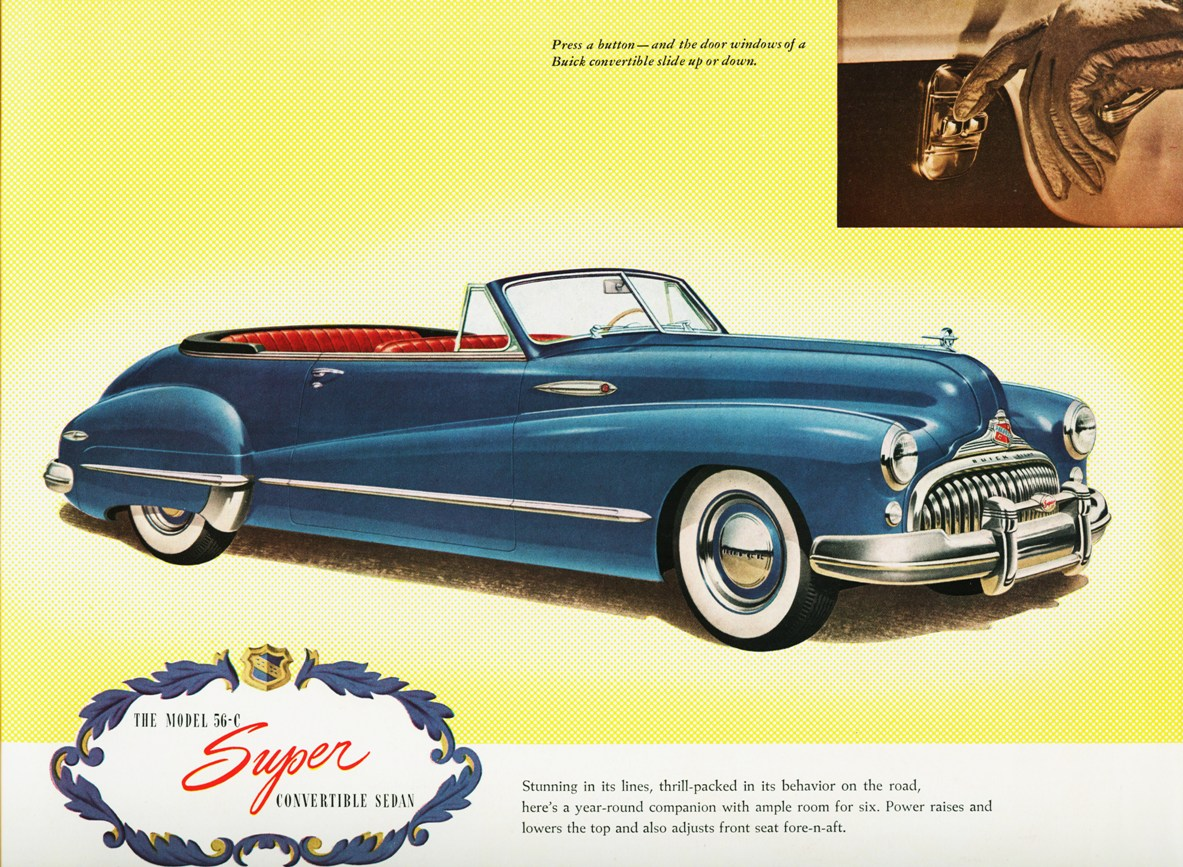 1947 Buick Super Model 56-C Convertible Sedan | Flickr - Photo ...