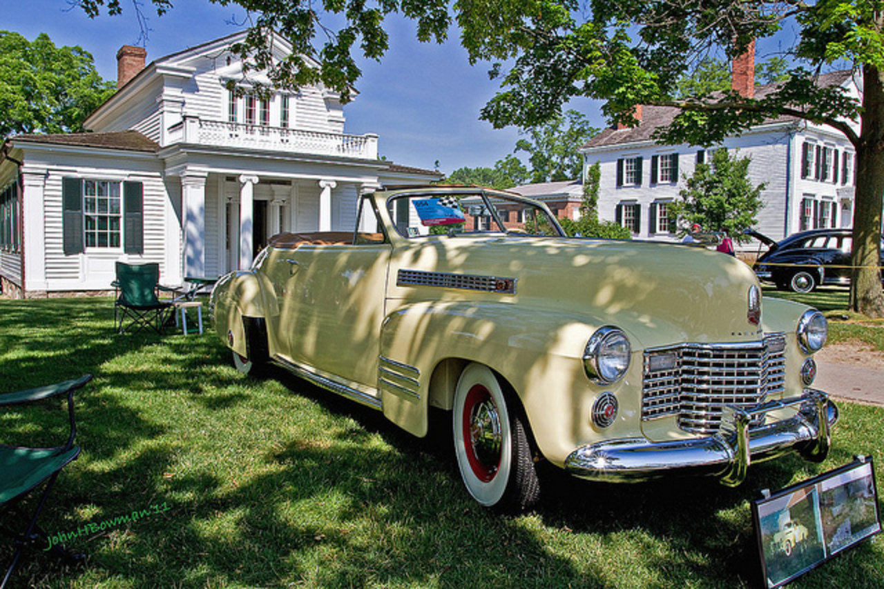 1941Cadillac Convertible & Robert Frost Home | Flickr - Photo Sharing!