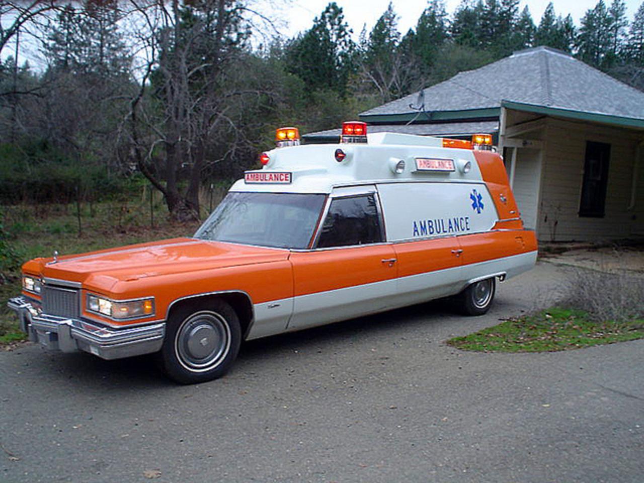 Superior Buick Gmc >> TopWorldAuto >> Photos of Cadillac Ambulance - photo galleries