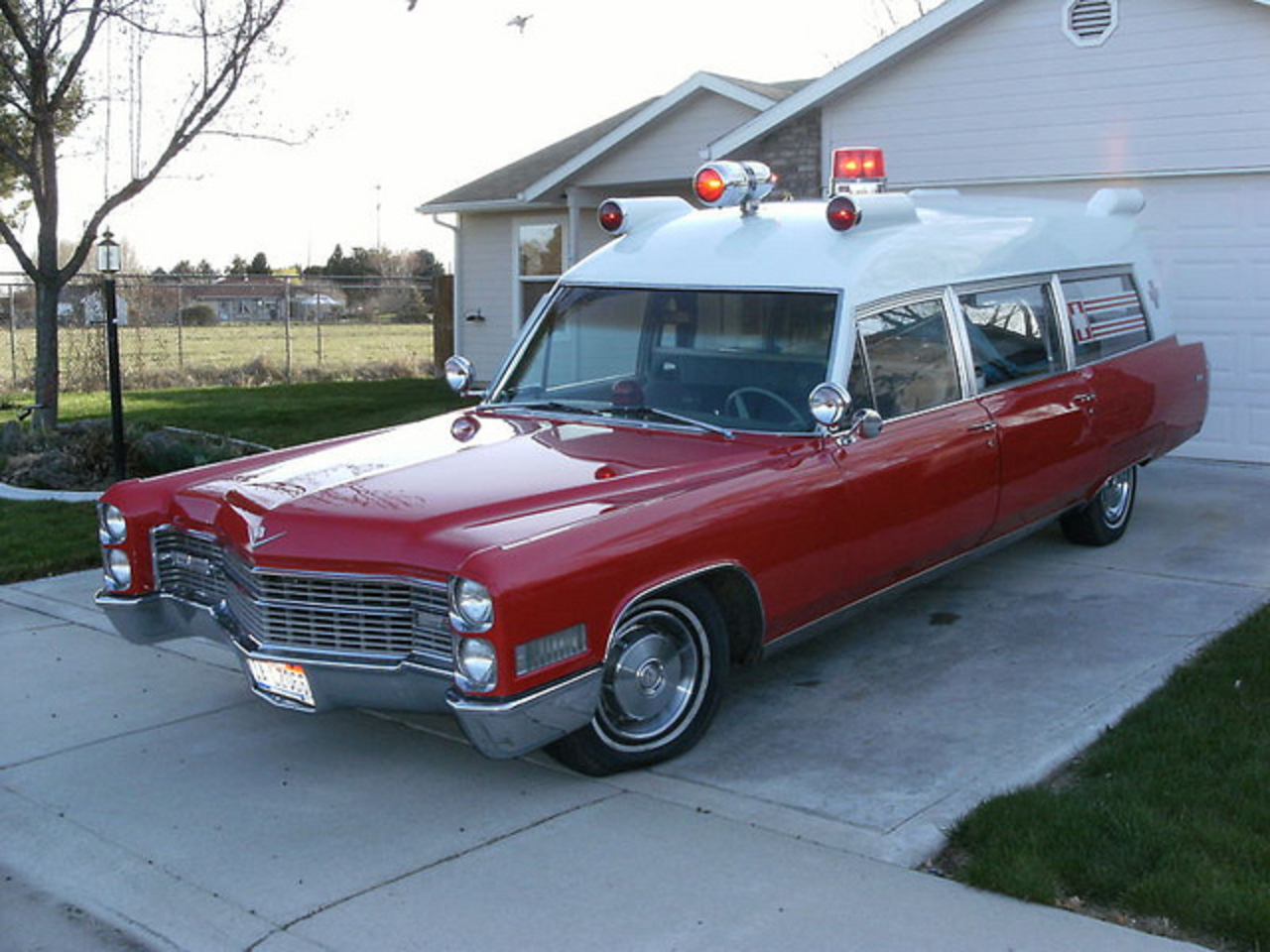 1966 Cadillac Ambulance by Miller Meteor | Flickr - Photo Sharing!