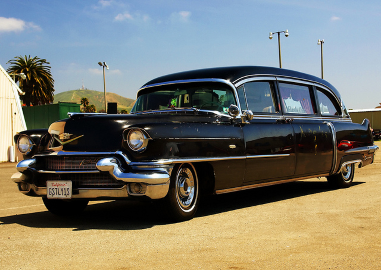 1956 Cadillac Hearse | Flickr - Photo Sharing!