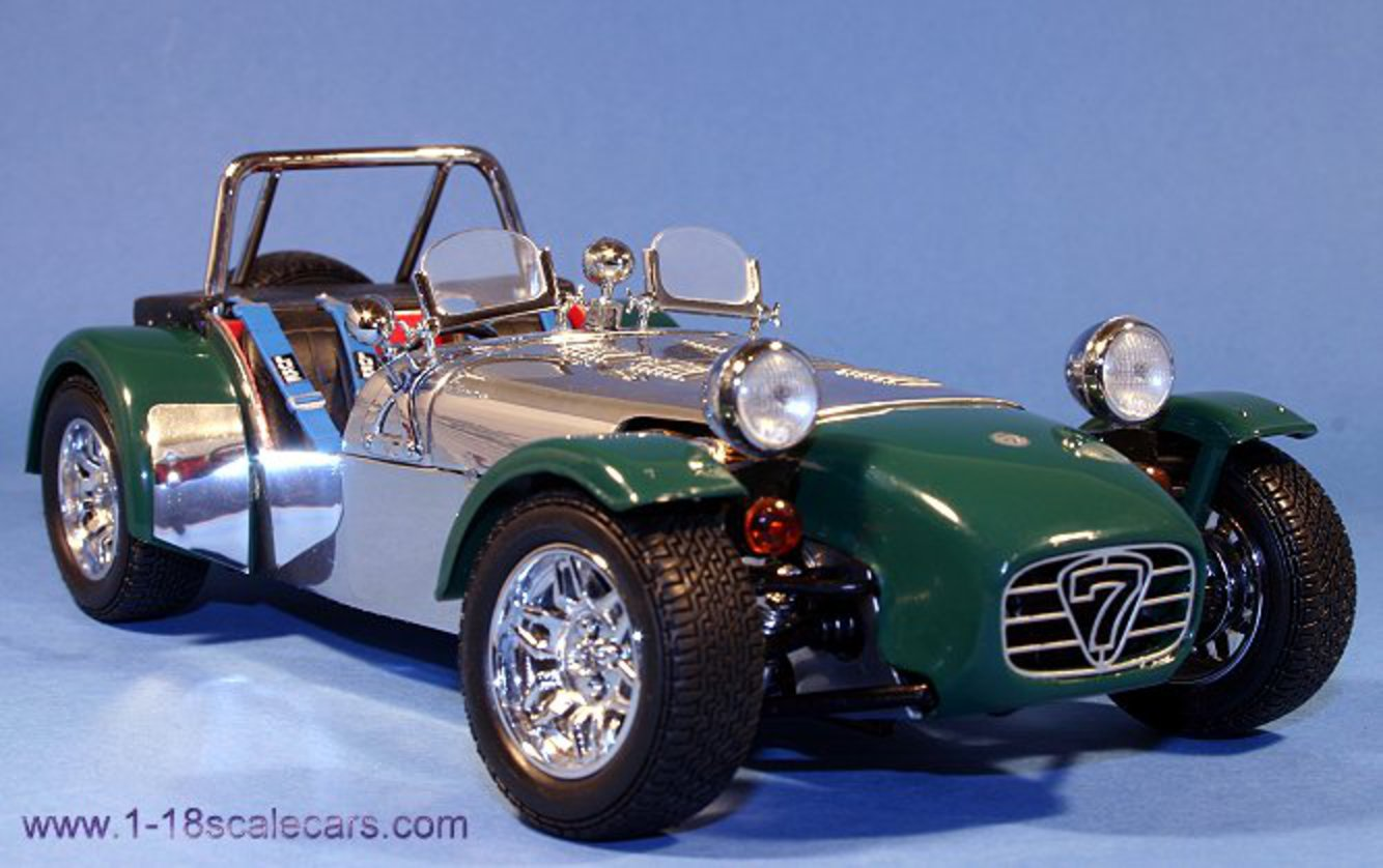 Caterham Super 7 (racing windscreen) by Kyosho