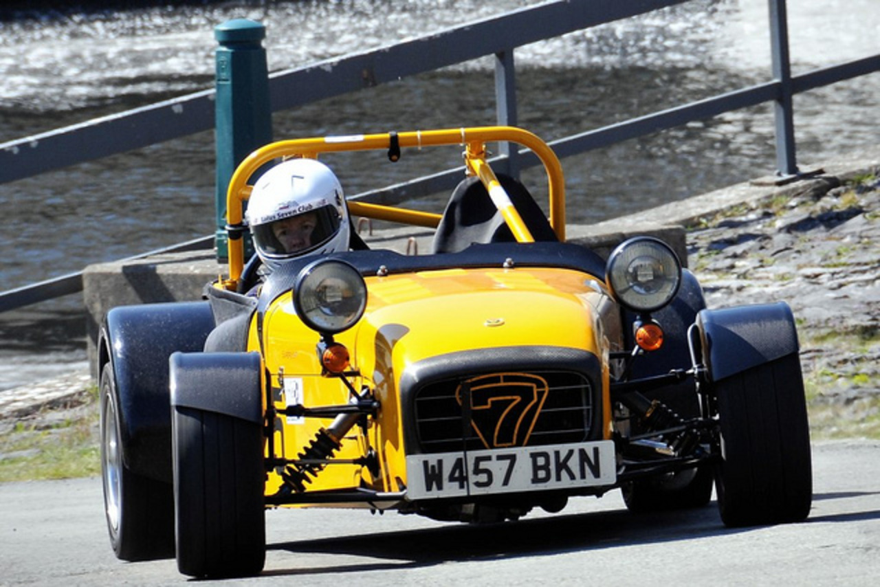 725 - Suzanne Gibson - Caterham Superlight 1800 Lotus 7 | Flickr ...