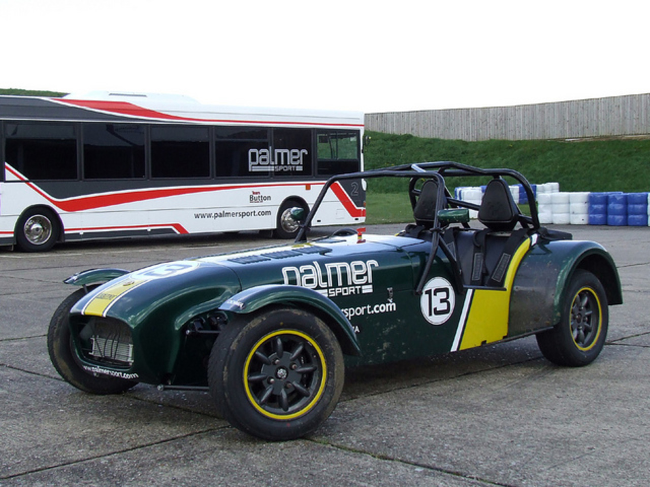 Caterham Seven Superlight - Palmersport - Bedford Autodrome ...