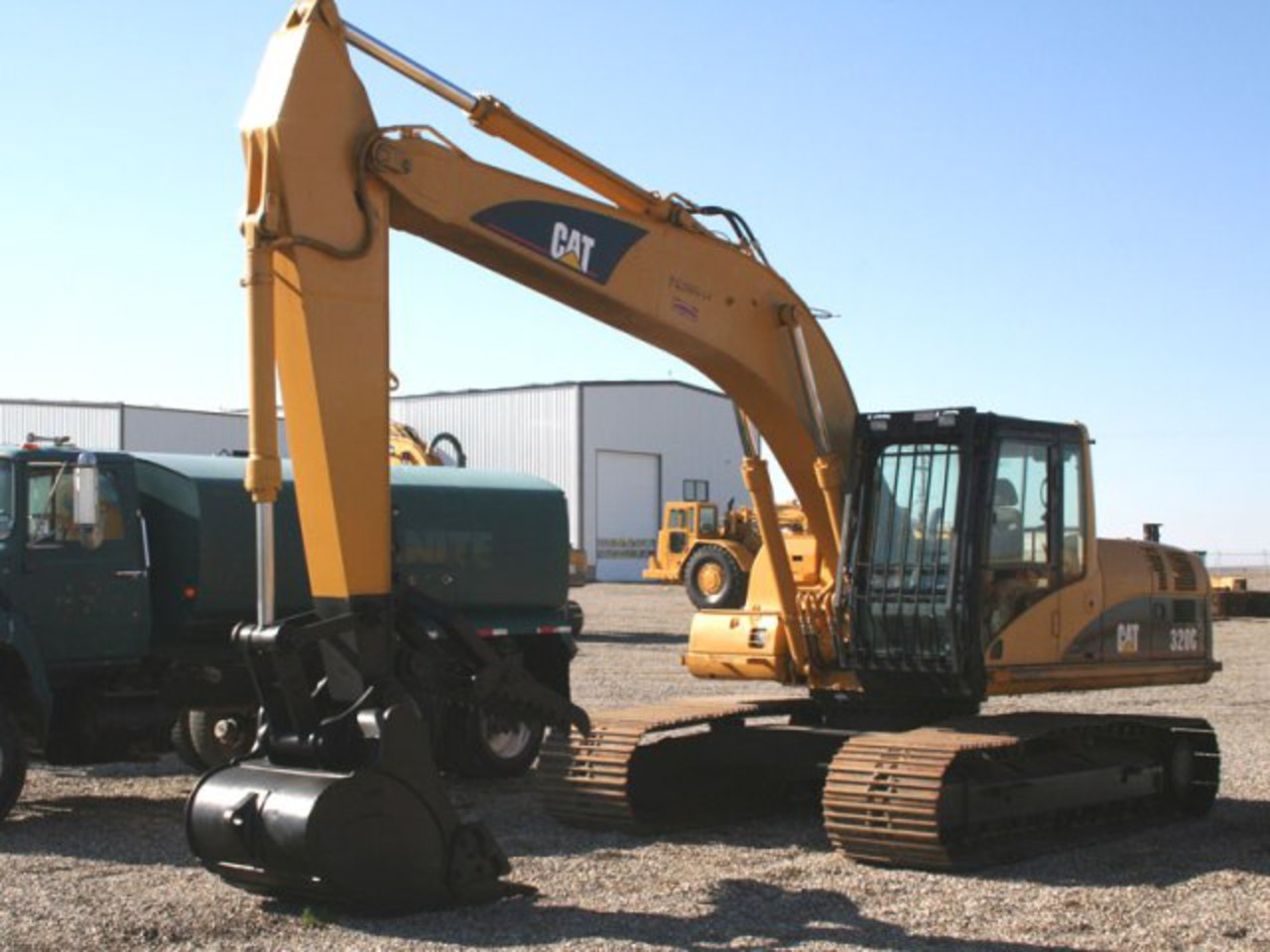 Caterpillar 320 photo 9 complete collection of photos of the