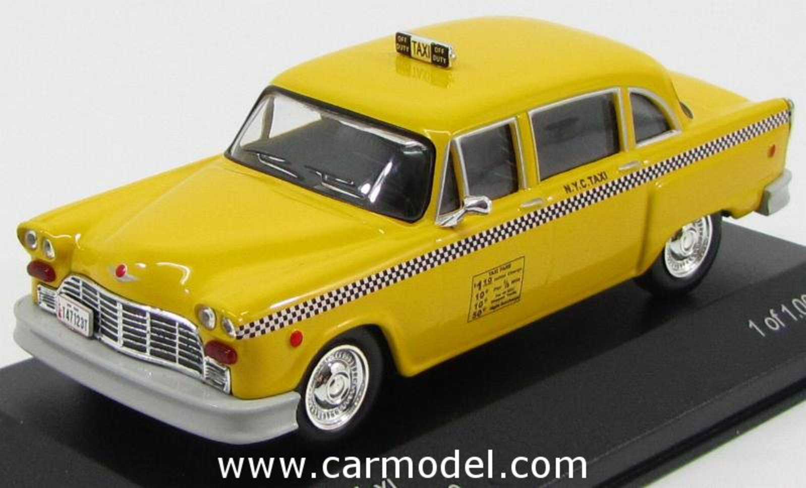 EDICOLA WHI186639 Scale 1/43 | CHECKER SPECIAL A11 TAXI CAB NEW ...