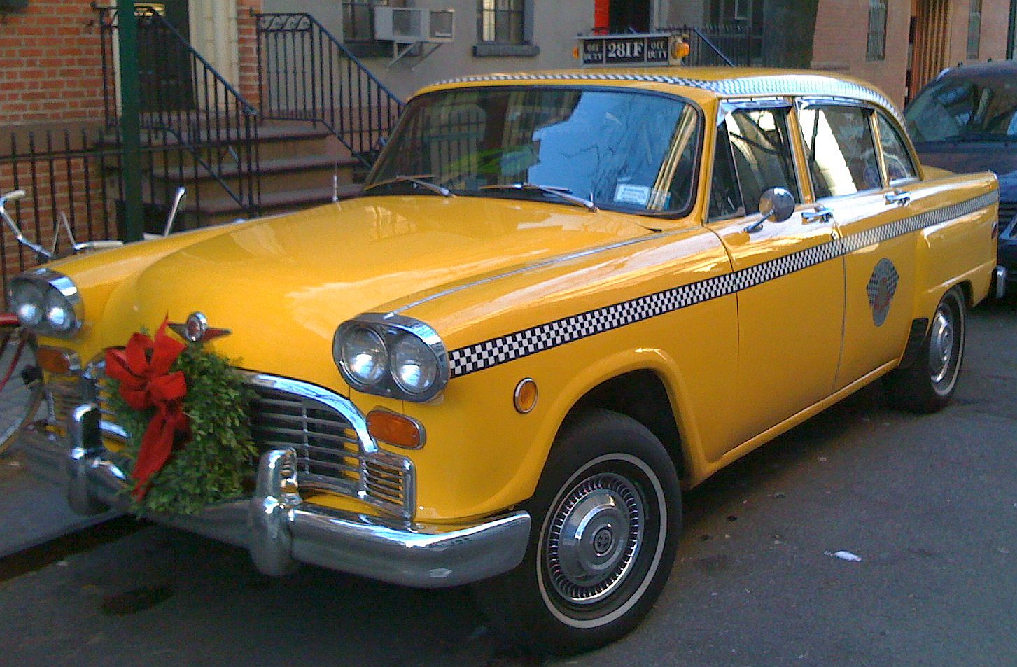 Checker Taxi cab. MotoBurg