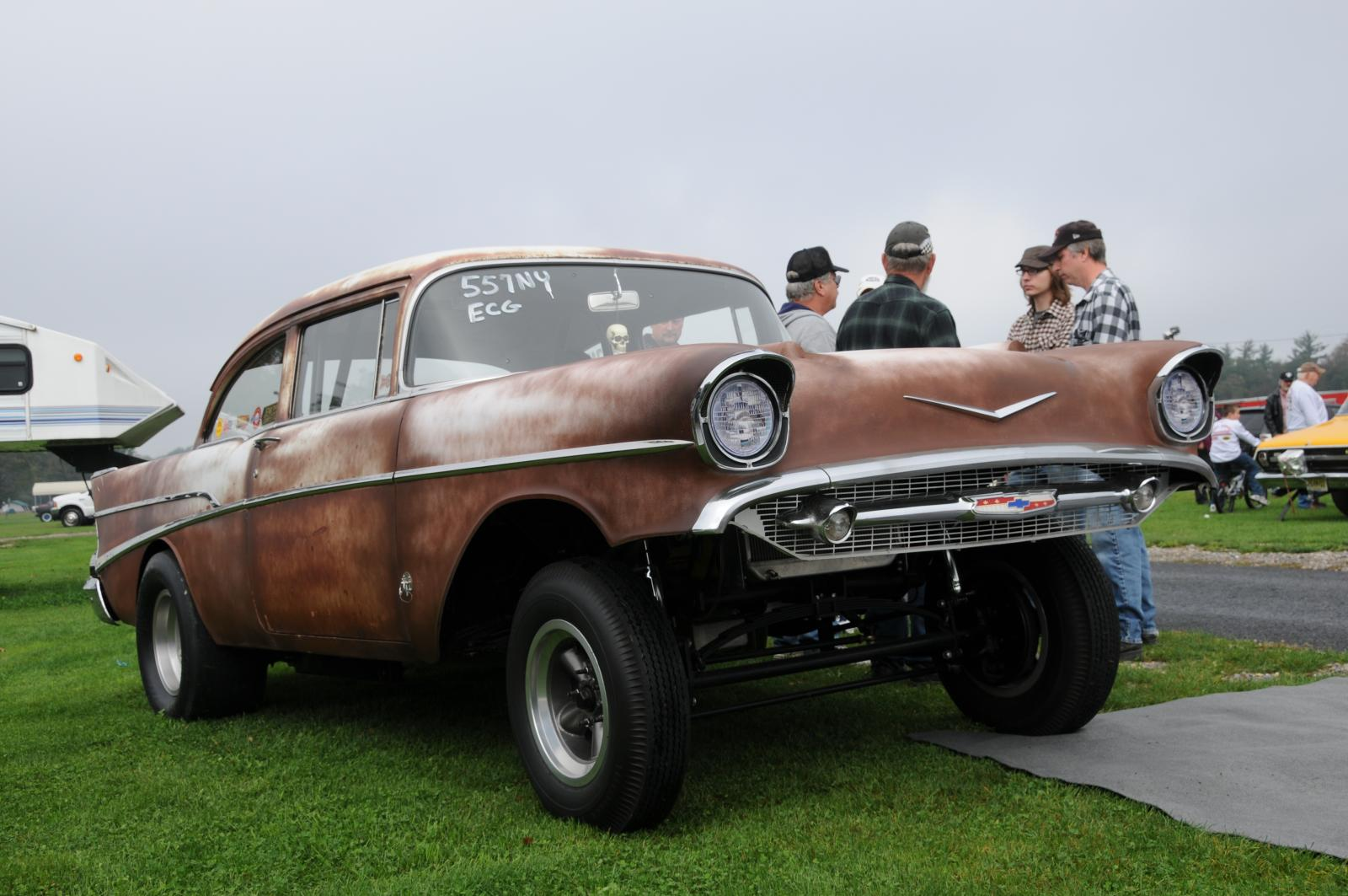 57 Chevy Gasser | Flickr - Photo Sharing!