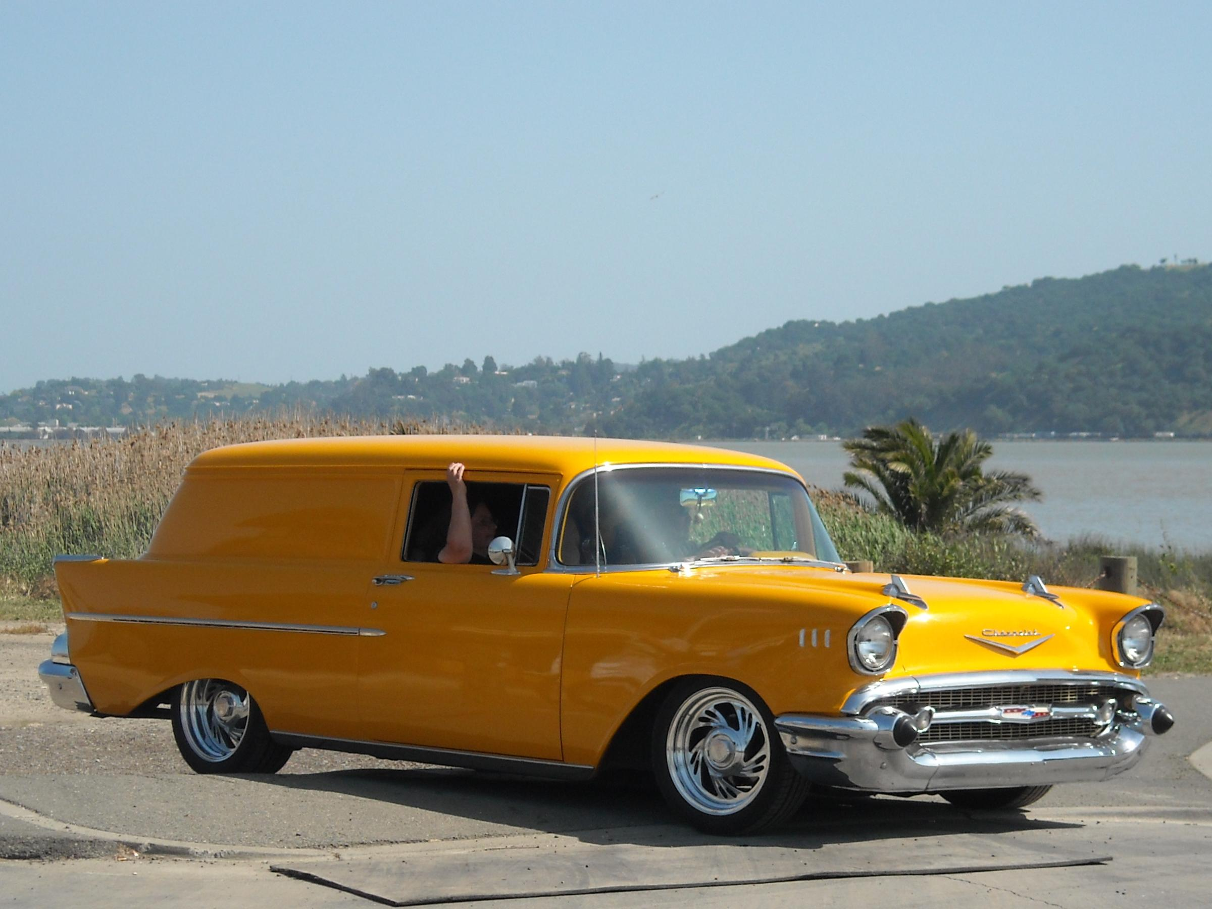 1957 Chevrolet 210 Sedan Delivery (Custom) 2 | Flickr - Photo Sharing!