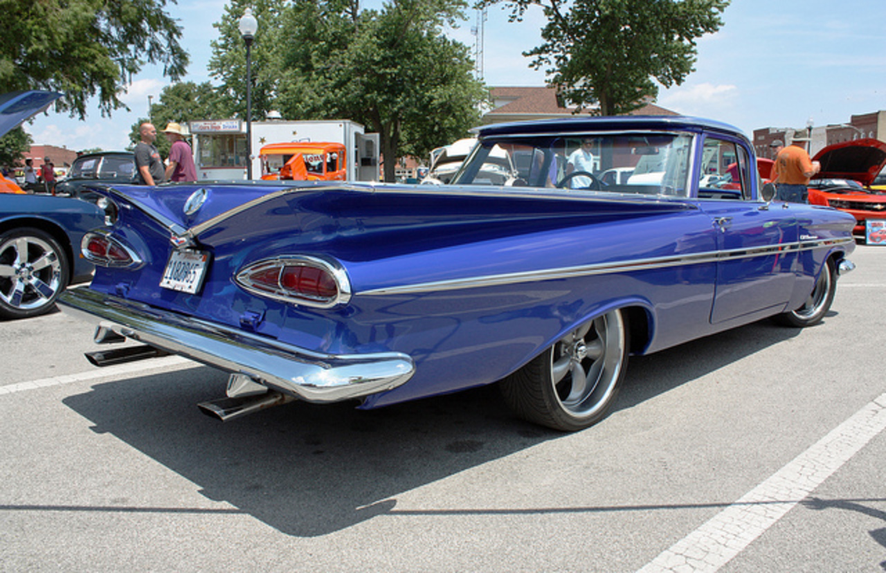 1959 Chevrolet El Camino Coupe Utility Custom (3 of 3) | Flickr ...