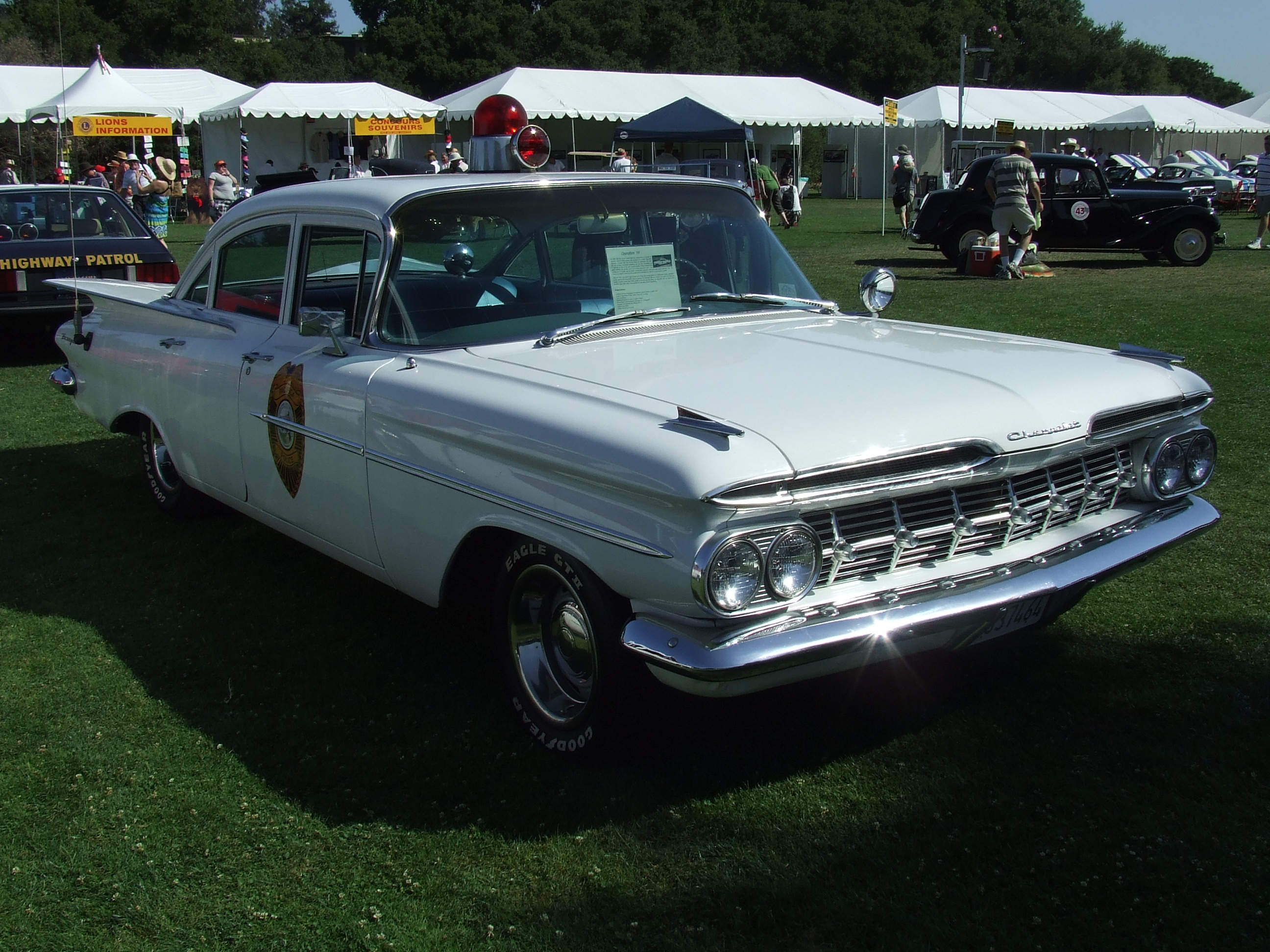 1959 Chevrolet Biscayne (Pacifica Police Car) 2 (JC) | Flickr ...