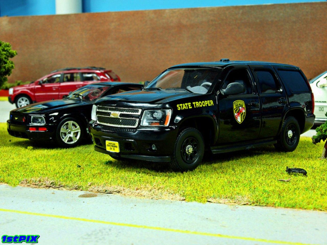Maryland State Police Chevy Tahoe Diecast | Flickr - Photo Sharing!