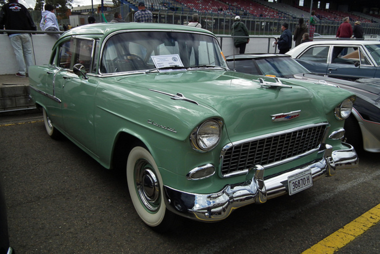 Flickr: The Tri-Chevys - Chevrolet's 1955, 1956 & 1957 Pool