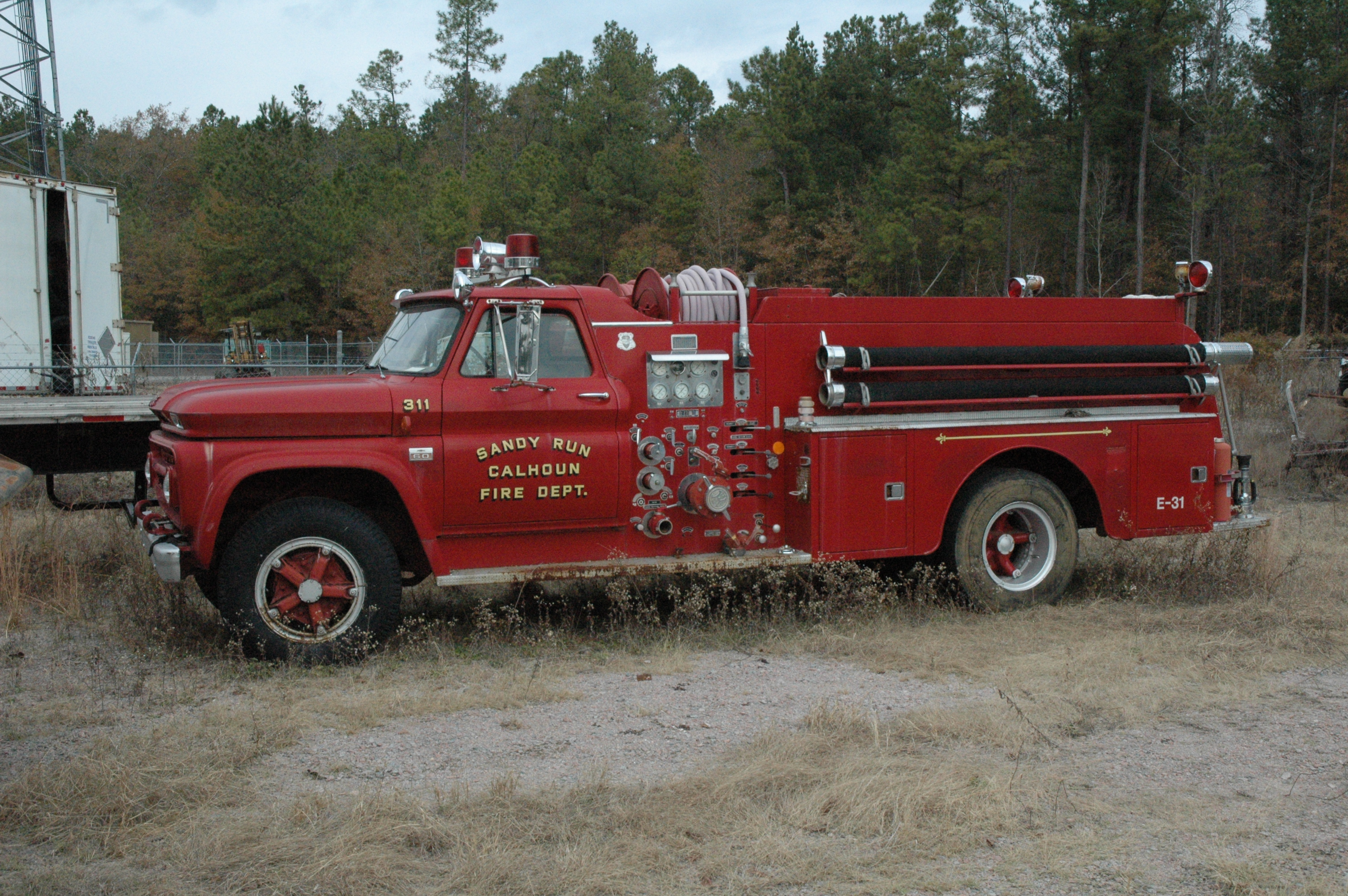 1962? Chevrolet Howe Fire Truck | Flickr - Photo Sharing!