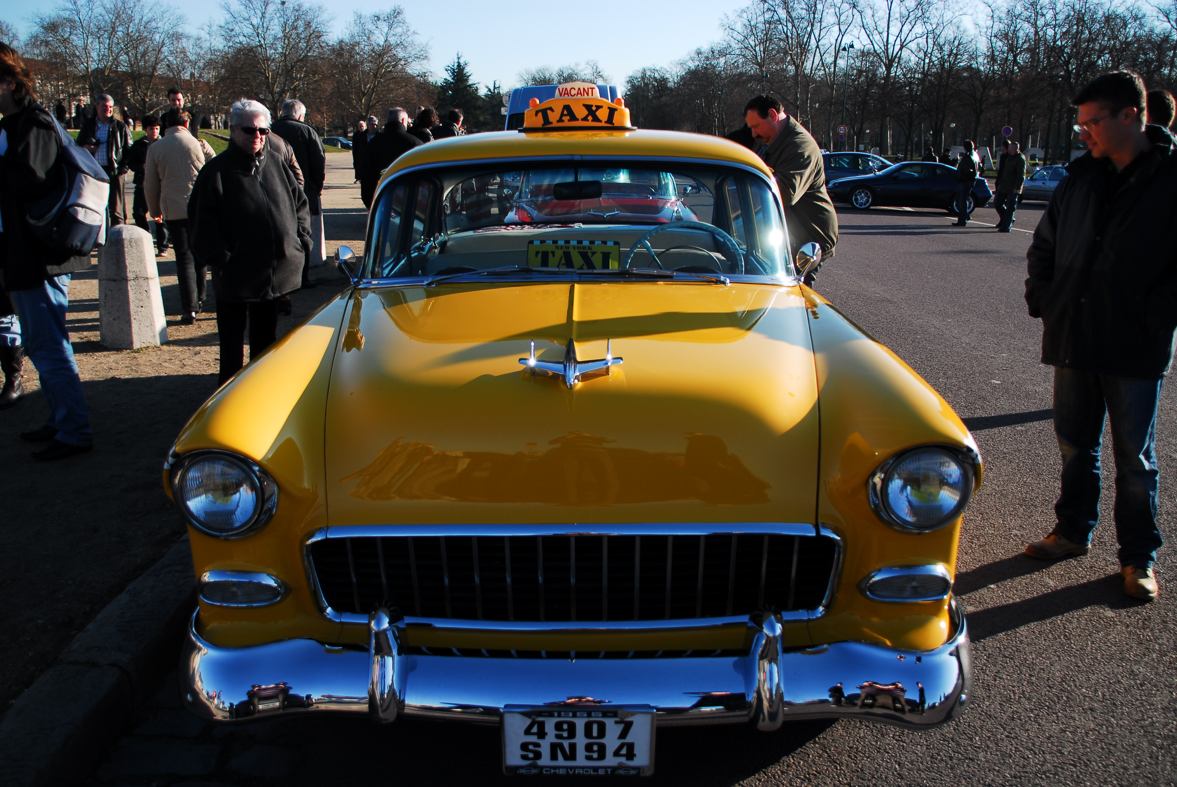 1955 chevrolet 210 TAXI | Flickr - Photo Sharing!