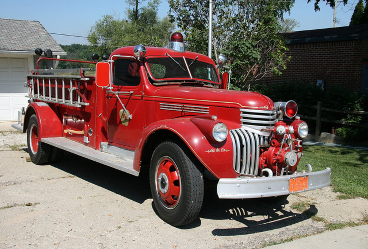 1942 Chevrolet Fire Engine | Flickr - Photo Sharing!